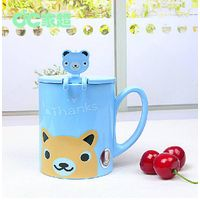 BSCI Social audit cartoon water bottle plastic kids cup