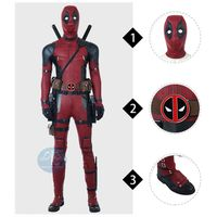 Deadpool 2 high quality cosplay costume outfits for adult Halloween costumes manluyunxiao