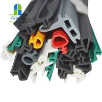Customized EPDM extruded aluminum door and window rubber seal strip thumbnail image
