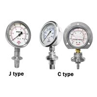 DIAPHRAGM PRESSURE GAUGE Threaded Process Connection #DS148 (W)