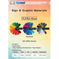 ULTRASHEET Sign Marking Film for OUTDOOR