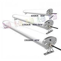 30w/40w/50w/60w LED Parking Lot Lighting Fashion Simple Design 40w LED Tri-proof Lamp