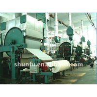 1092Mm Fourdrinier And Multi-Dryer Culture Paper Machine