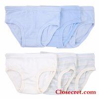 Closecret Kids Series Soft Cotton Underwear Little Boys' Assorted Briefs(Pack of 6) thumbnail image