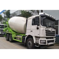 Shacman Shanxi Steam 12cbm Cement Concrete Mixer Truck Price thumbnail image