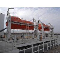 Marine Single Arm Rescue Boat Davit