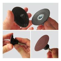 Rolco Surface Conditioning Disc,Surface Conditioning Sanding Disc with Rolco, 3'' sanding disc