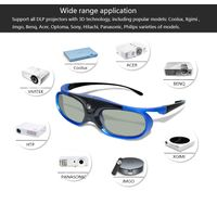 Active Shutter 3D Glasses with Rechargeable match all DLP 3D projector YANTOK thumbnail image