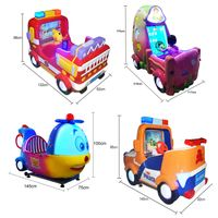 new arrival coin operated games 3d video game machine Kiddie ride swing game machine thumbnail image