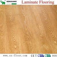 German Technology HDF Glossy Waterproof Locking Laminated Laminate Flooring thumbnail image