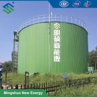 Assembled Biogas Fermentation Tank for Organic Waste Tretment