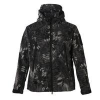 Fashion Waterproof Mens Riding Softshell Jackets Wind Breaker Jacket thumbnail image