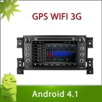 "7"" 2 din SUZUKI VITARA android 4.1 car DVD with Radio,GPS,Ipod,Bluetooth,SWC,Wifi,PIP,3D UI"