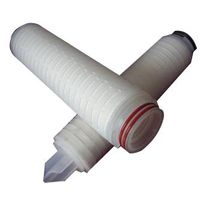 30 inch Polypropylene membrane / PP Pleated Filter Cartridge for water filtration