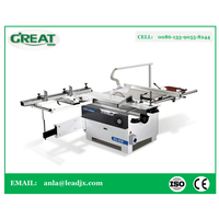 MJ-45M woodworking Compound slide talbe saw manufacturer Horizontal precision Panel Saw