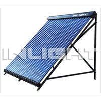 Heat pipe pressurized solar collector