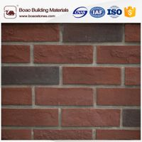 Faux decorative thin face brick veneer panel for wall decoration