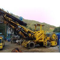 Atlas copco 3boomer 353 drill machine