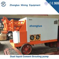 China Dual liquid Cement Grouting pump Manufacturers thumbnail image
