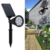 dongguan multi-color low voltage outdoor led landscape solar Spotlight spot yard lawn garden light