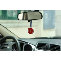 Long Lasting Car Hanging Solid Apple Shape Air Freshener
