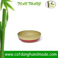bamboo fibre tableware, kitchenware bowl, Vietnam bamboo bowl