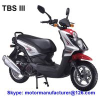 TBS III Scooter JNEN Motor Popular Design 2016 Model Gasoline Scooter 125CC CDI/EFI EEC/EPA