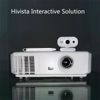 Hivista DLP Long Focus Projector + Portable Interactive Whiteboard F-35L Complete Solution