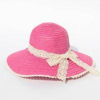 fashion wide large brim straw hat for woman