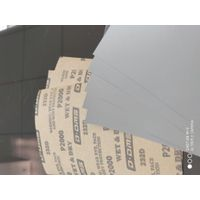 waterproof abrasive paper sheet with durable latex paper for wet polishing
