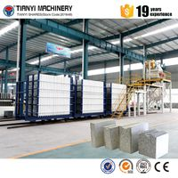 Sandwich wall panel making machine equipment