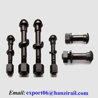 Railway Accessory Steel Rail Track Fishtail Bolt