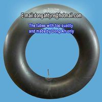 dong ah brand top quality korea tech butyl inner tube for truck tire 1200-20