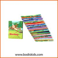 Baby Book Baby Book Washable Baby Early Educational Soft Fabric Cloth Durable Soft Baby Book thumbnail image