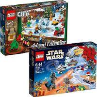 LEGO City Star Wars Friends Advent Calendars 60155 75184 - 2017