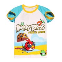 wholesale summer short sleeve boys girls T-shirt children's cartoon 100% catoon