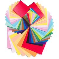Colorful size paper