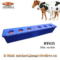 FEELFREE thermo water bowl for sheep / horse water trough with 6 drinking positions for dairy ranch