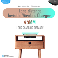 ZeePower-45mm Invisible Wireless Charger, Long distance Fast Wireless Charger thumbnail image