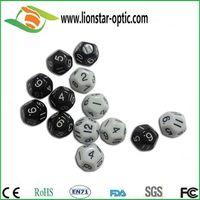 Customized dice, polyhedral dice, plastic dices , printing dice, 24 sided dice ,custom color dice
