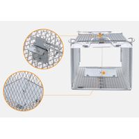 Humane Mouse Rat Trap Cage Live Catch Rodent Control with Two Doors thumbnail image