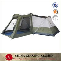 high quality 2 room 5 person Auto outdoor tent for camping