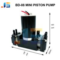 dual head high flow vdc small piston pump thumbnail image