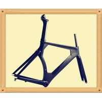 carbon bicycle TT frame+fork+seatpost for track bike