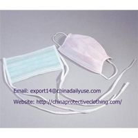 2 Ply Disposable Surgical Non Woven Face Mask for Adult