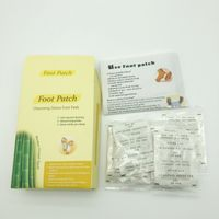 Detox Foot Patch-Relief of Arthritis or joint pains Oem Customized Box