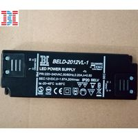 20W12V Black Super Thin LED Driver
