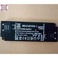 20W12V Black Super Thin LED Driver