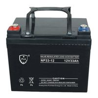 VRLA Rechargeable Storage Solar Battery 12V33Ah