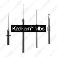 Kadkam Mbs dental milling burs for CAD/CAM milling blanks alloy/metal milling burs
